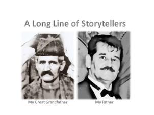 A long line of storytellers